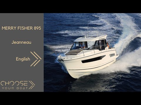MERRY FISHER 895 by Jeanneau Guided Tour Video in English