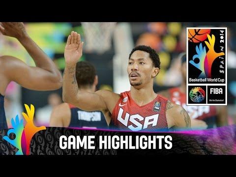 watch Slovenia v USA - Game Highlights - Quarter Final - 2014 FIBA Basketball World Cup