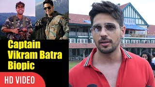 Sidharth Malhotra About Working In Captain Vikram Batra Biopic | Viralbollywood