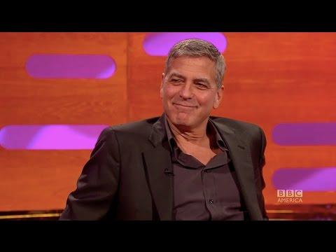How George Clooney pranked Meryl Streep & Brad Pitt The Graham Norton Show