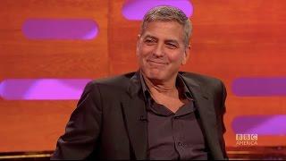 How George Clooney pranked Meryl Streep & Brad Pitt - The Graham Norton Show