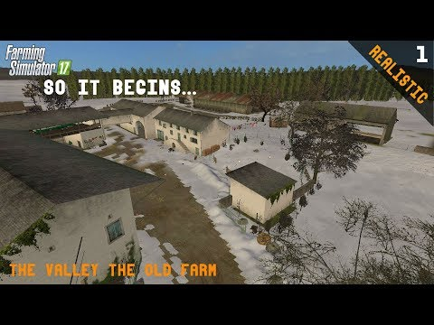 Xxx Mp4 SO IT BEGINS Realistic FS17 The Valley The Old Farm Ep 1 3gp Sex