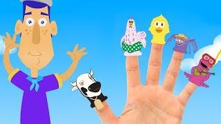 Family Fingers  Zenon's Farm Animals  - Songs for kids Children