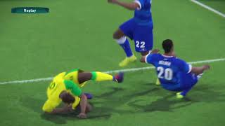 PS4 PES 2017 Gameplay Cape Verde vs South Africa HD