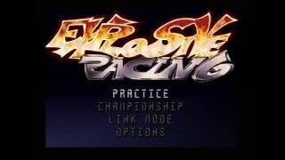 "[Ps1] Introduction du jeu ""Explosive Racing"" de l'editeur Funsoft (1997)"