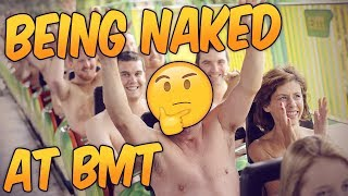 Showering NAKED With Other People!? (BMT Experience)