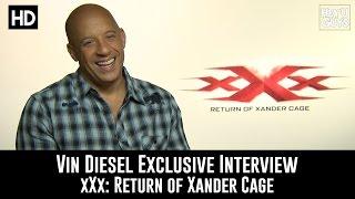Vin Diesel Exclusive Interview - xXx: Return of Xander Cage