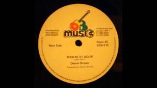 """Dennis Brown - Man Next Door 12"""""""