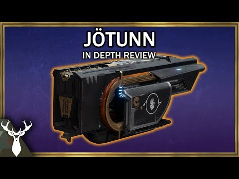Destiny 2 Jotunn In Depth Review Exotic Special Fusion Rifle