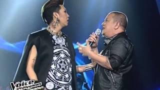 The Voice Philippines Finale: Lea Salonga and Mitoy  'TOTAL ECLIPSE OF THE HEART' Live Performance