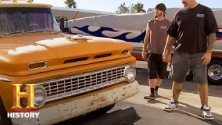 Counting Cars: A '63 Chevy Camper Hillbilly Limo | History