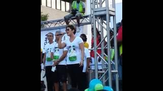 Tessane Chin Singing National Anthem of Jamaica