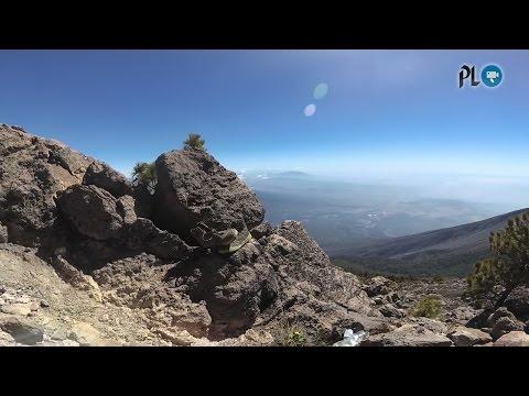 watch Guía sube el Acatenango y muestra dónde hallaron a los montañistas