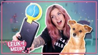 Selfie gadget voor je huisdier | LEUK OF MEUK?