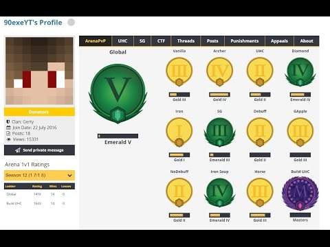 Build UHC #1 Hacking to Masters. (90exeYT Exposed) [German Version DESC]