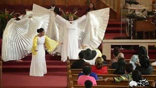 Dante Bowe Potter and Friend - Zion's Praise Dance Ministry