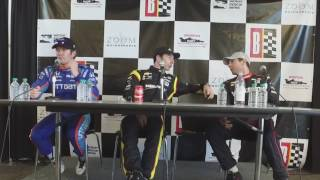 INDYCAR #HIGPA Qualifications Press Conference