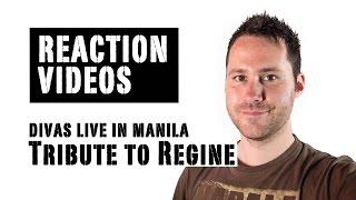 Divas Live in Manila - The Tribute to the OPM Queen Regine Velasquez | REACTION