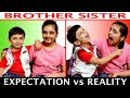 EXPECTATION vs REALITY | Brother & Sister #Funny #Roleplay Types of Kids | Aayu and Pihu Show