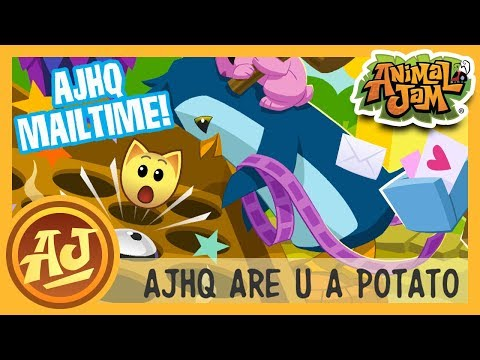 AJHQ s First Mailtime Video Ever Animal Jam