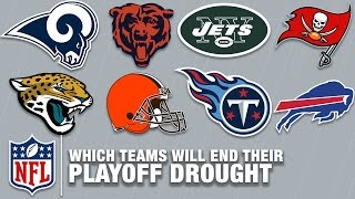 Which Teams Will End Their Playoff Drought in 2017? | Around the NFL | NFL