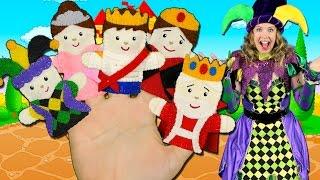 Royal Finger Family Song: Royal Family! Finger Family Nursery Rhymes for Kids