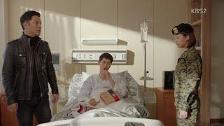 [ENGSUB] Descendants of the Sun Episode 14 - Kim Ji Won , Jin Goo , Song Joong Ki Scene Cut