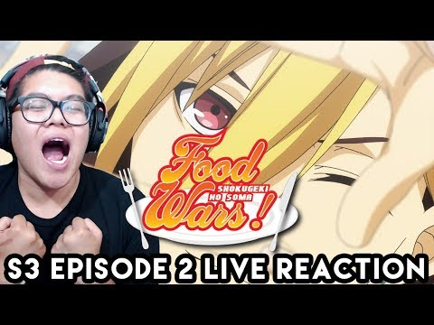 Xxx Mp4 Spicy Masochists Food Wars The Third Plate Episode 2 Live Reaction Shokugeki No Soma 食戟のソーマ 3gp Sex