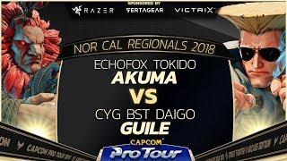 EchoFox | Tokido vs. CYG BST | Daigo - Grand Finals - NCR 2018 - SFV - CPT 2018
