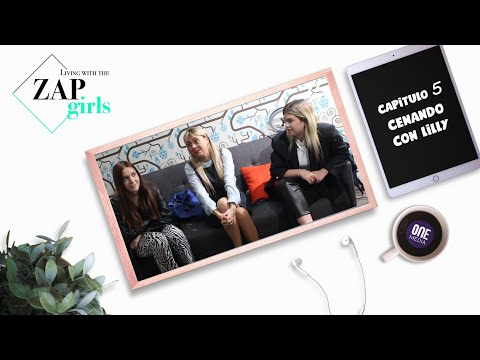Living With the Zap Girls Capitulo 5 Cenando con Lilly