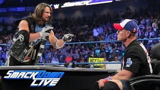 Royal Rumble WWE Championship Match Contract Signing: SmackDown LIVE, Jan. 3, 2017