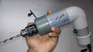 How to make a powerful drill machine at home.