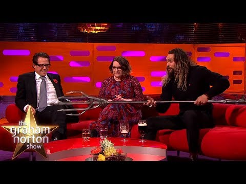 Jason Momoa Shows Off His Aquaman Quindent | The Graham Norton Show - YouTube Alternative Videos Watch & Download