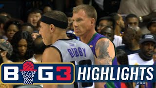 Ghost Ballers vs 3 Headed Monsters | BIG3 HIGHLIGHTS