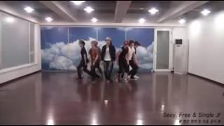 Super Junior - Sexy Free & Single - Dance Practice