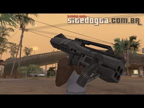 Armas do Battlefield 2042 para GTA San Andreas