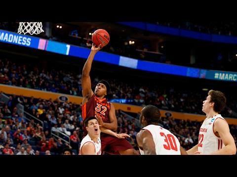 First Round Wisconsin knocks off Virginia Tech