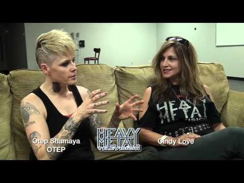 Heavy Metal Television Interviews Otep