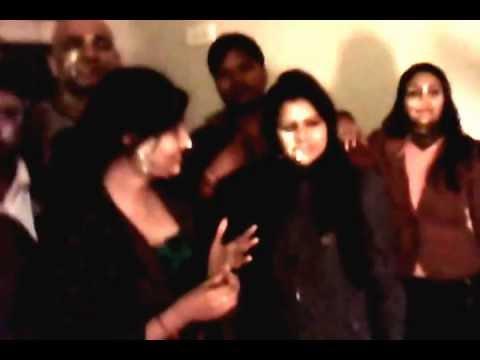 Happy New Year 2013 Clip In Hotel Madhuyamini,Madhubani,Bihar,With Pandav Cine Vision Team