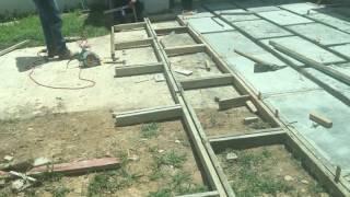 How to build concrete pavers