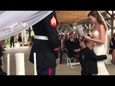 Xxx Mp4 4 Year Old Boy Cries As Stepmom Reads Wedding Vows She Wrote For Him 3gp Sex