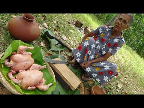 Xxx Mp4 Chicken Recipe ❤ Spicy Black Chicken Curry Prepared In My Village By Grandma 3gp Sex