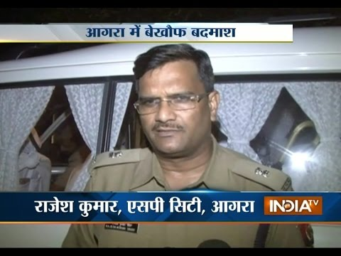 2 Businessmen Shot by 3 Miscreants at Raja Ki Mandi in Agra - India TV