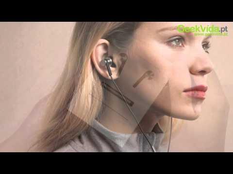 Original Xiaomi Hybrid Headphones 2 Unidades In-Ear HiFi com Mic