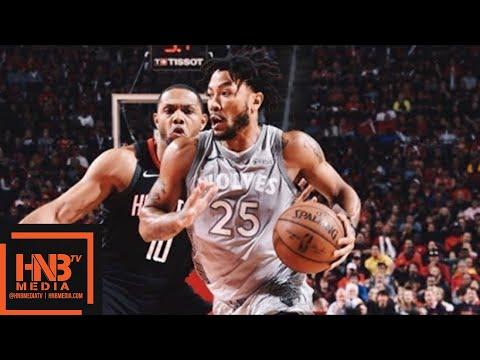 Houston Rockets vs Minnesota Timberwolves Full Game Highlights Game 1 2018 NBA Playoffs