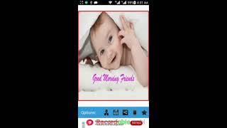 Good Morning and Night Wishes android app