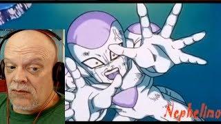 REACTION VIDEO | Dragon Ball Clip - Goku Nails Frieza With The Spirit Bomb!