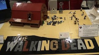 LEGO The Walking Dead scene – BrickFair Virginia 2015