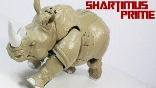 Transformers Rhinox Voyager Generations Beast Wars Figure Review
