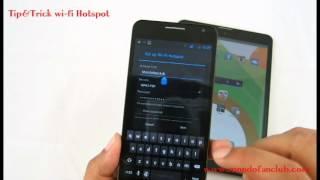 การเปิดใช้งาน wi-fi Hospot บนมือถือ Android